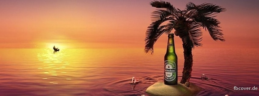 Heineken at sunset. - Heineken at sunset.