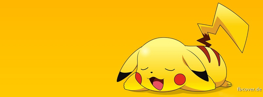 Pokemon - Pokemon Pikatchu asleep.