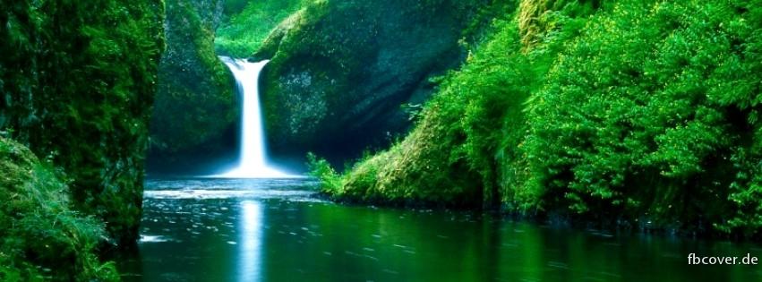 A waterfall - A waterfall