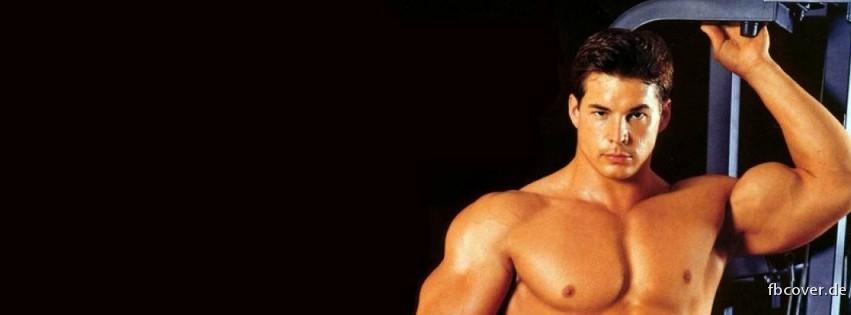 A man with a lot of muscle - A man with a lot of muscle
